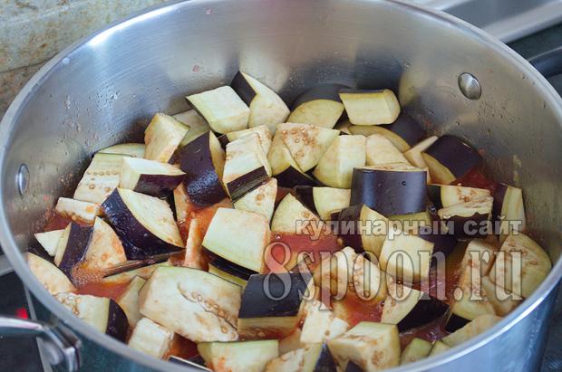 Соте из баклажанов на зиму- рецепт с фото_06