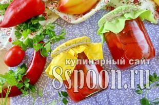 Лечо на зиму из болгарского перца фото_1