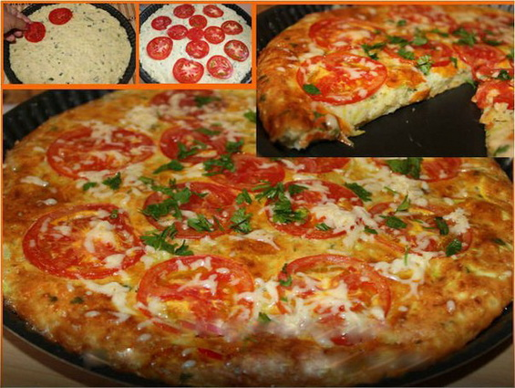 Быстрая кабачковая пицца: хит лета!