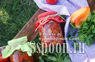 Сладкий перец в аджике на зиму фото_2