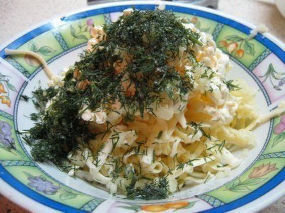 Фаршированные кальмары креветками и сыром