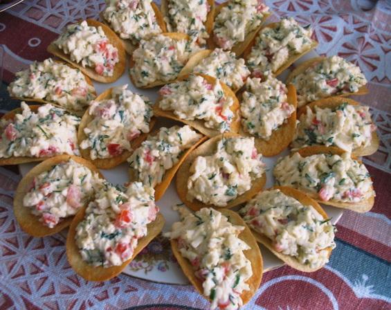Сырная закуска на чипсах «Классическая»