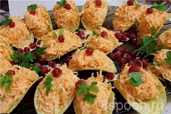 салат на чипсах рецепт с фото