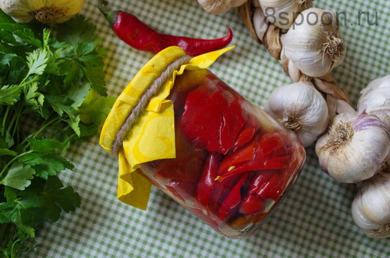 рецепт маринованного перца на зиму