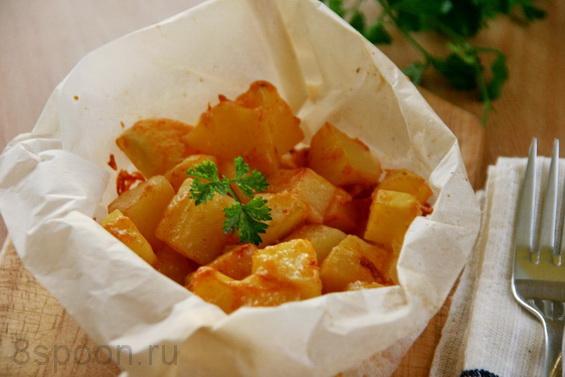 картошка с паприкой фото 13