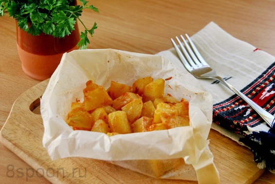 картошка с паприкой фото 17
