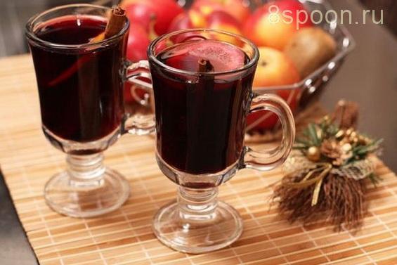 Домашний глинтвейн с сухим вином
