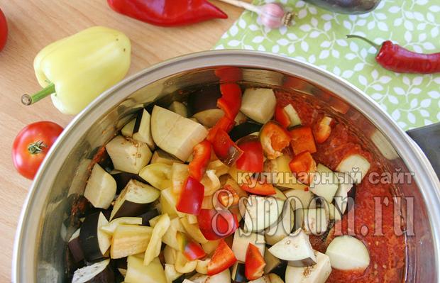 Баклажаны в томатном соке на зиму рецепт с фото_08