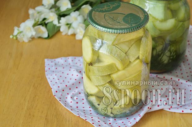 Кабачки, консервированные на зиму без стерилизации_09