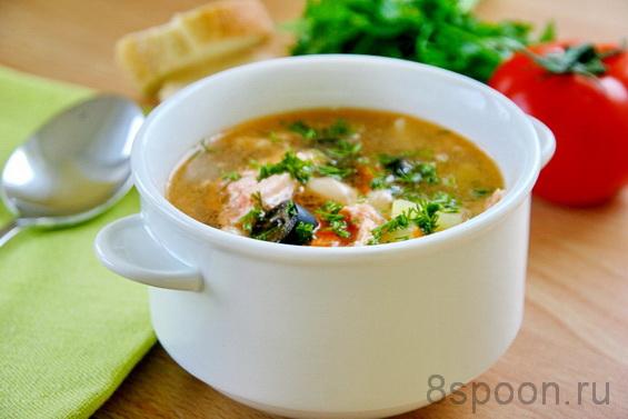 суп из красной рыбы фото 7