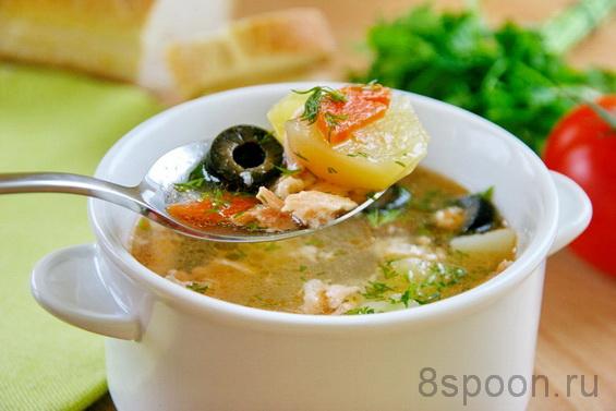 суп из красной рыбы фото 8