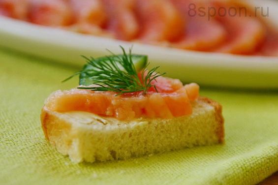 как засолить красную рыбу в домашних условиях рецепт с фото