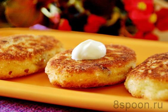 Сырники с изюмом фото 9