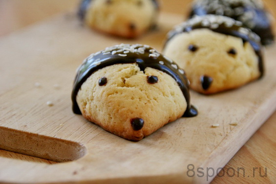 печенье Ежики фото 14