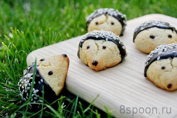 печенье Ежики фото 17