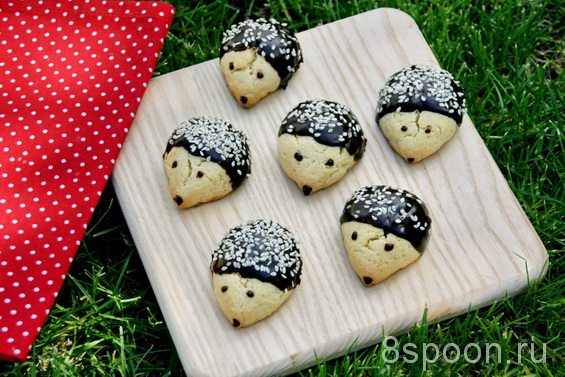 печенье Ежики фото 19