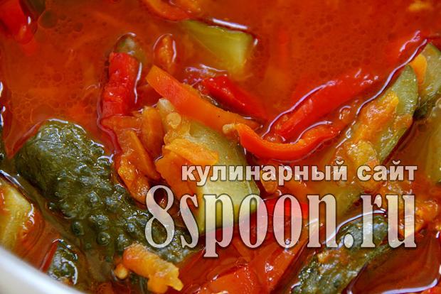Лечо рецепт и салаты
