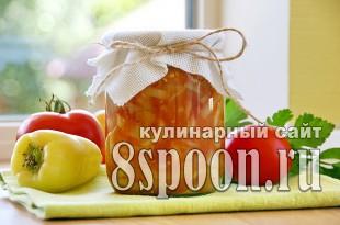 Лечо с яблоками на зиму фото_11