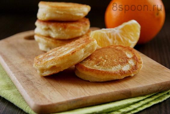 оладьи с апельсином фото 14