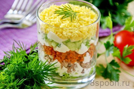 салат с печенью трески фото 11
