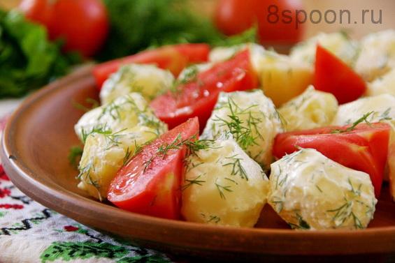 Картофель с укропом фото 7