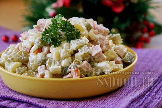 рецепт салата оливье от ивлева