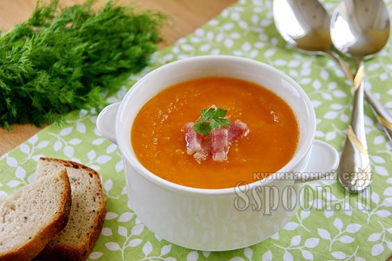 Тыквенный суп пюре фото