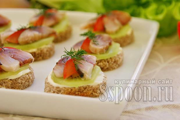 Бутерброды с киви фото 10