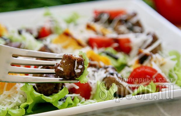 салат с печенью фото 12