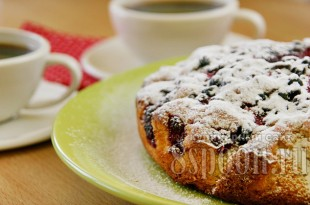 пирог с ягодами фото 14
