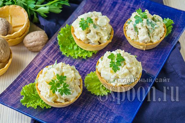 Тарталетки с начинкой: простые и вкусные рецепты с фото