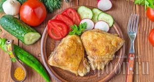 Жареная курица на сковороде: рецепт с фото