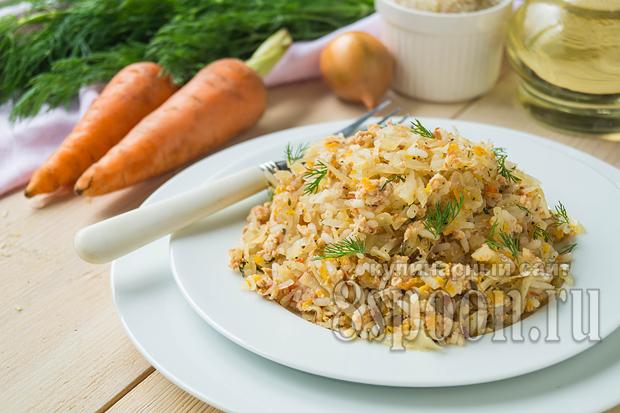 Ленивые голубцы: рецепт с рисом и фаршем