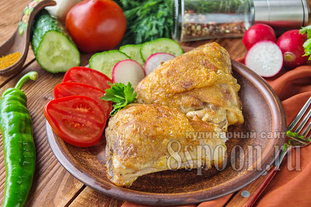 как вкусно пожарить курицу на сковороде