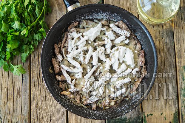 Рецепт бефстроганов из говядины со сметаной и рецепт