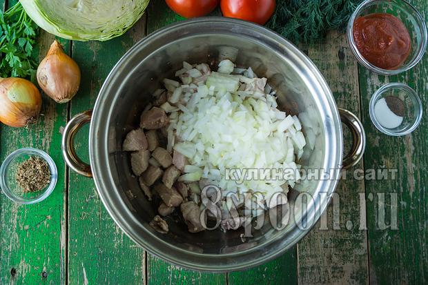мясо с картошкой рецепт с фото