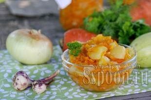 салат из кабачков фото 13