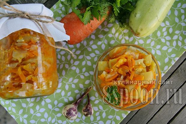 салат из кабачков фото 15