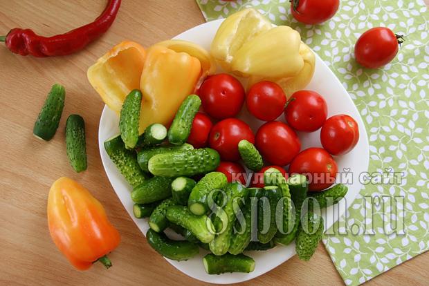 Ассорти овощное на зиму фото 1