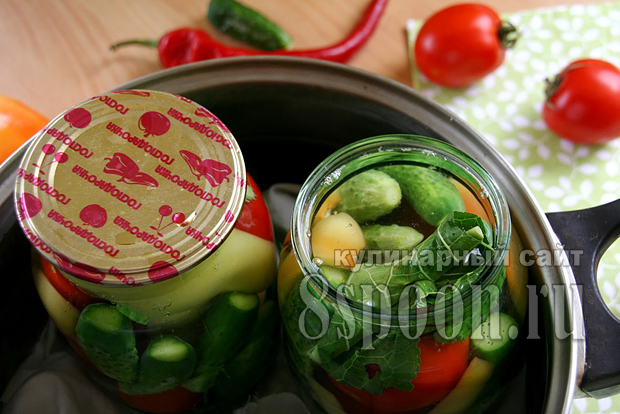 Ассорти овощное на зиму фото 5