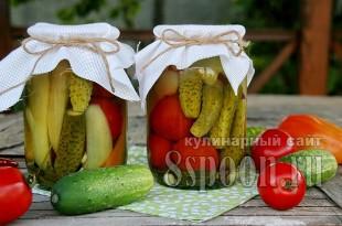 Ассорти овощное на зиму фото 6