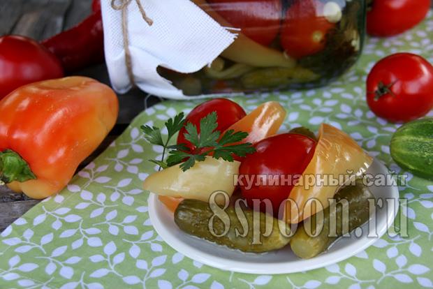 Ассорти овощное на зиму фото 7