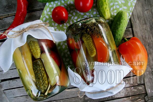 Ассорти овощное на зиму фото 8