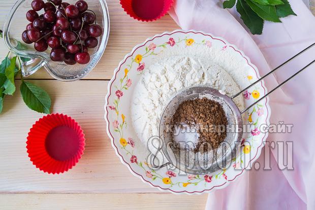 кексы в силеконовых формах рецепт
