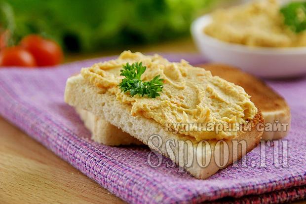 Куриный паштет из грудки рецепт с фото _10
