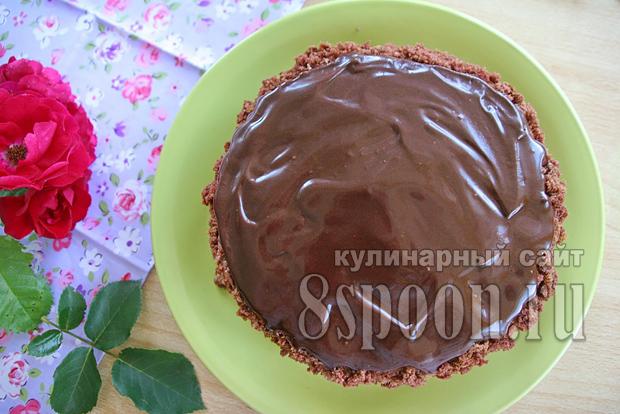Торт пражский рецепт с фото пошагово _06