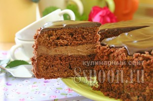 Торт пражский рецепт с фото пошагово _10