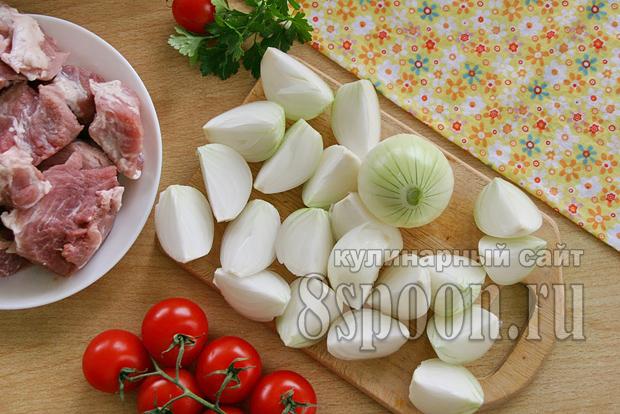 Маринад для шашлыка из свинины с уксусом и луком