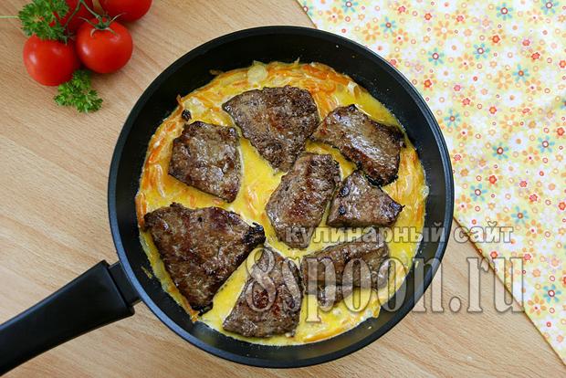 Рецепты тушенной говяжьей печени пошагово