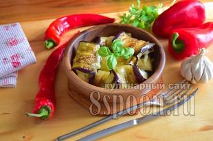 Рулетики из баклажанов с сыром и чесноком- рецепт с фото  _02